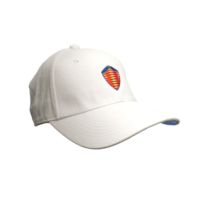 Koenigsegg White Cap - Coloured Logo