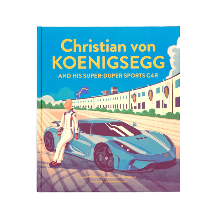 Book: Christian von Koenigsegg and his super-duper sports car