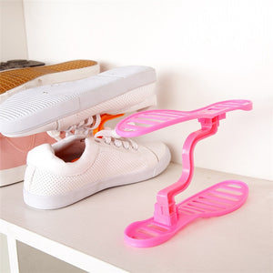 Mountable Space Saving Shoe Holder