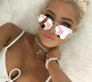 ShoeFits - mirrored sunglasses women fashion accessories