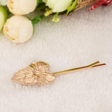 ShoeFits - gold floral hair clip women fashion accessories