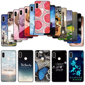 Soft Silicone Cartoon Back Case