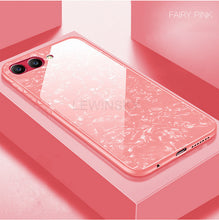 Soft Silicone Frame Tempered Glass Case