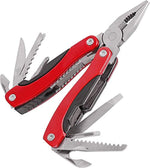 Multitool 15-in-1 Pliers - Stainless Steel Pocket Knife Kit with Bottle Opener, Plier, Screwdriver, Saw-Perfect for Outdoor, Survival, Camping, Fishing, Hiking - Ationgle