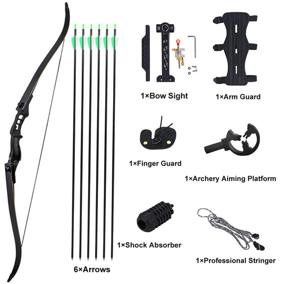 Rootmemory Archery Recurve Bow and Arrow for Adults 40 lbs