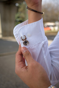 Magnetic Any-Shirt Cufflinks - CLIP OFF Suit & Tie Accessories