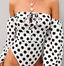 Polka Dot Frenzy Bodysuit