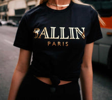 Ballin Paris (Gold  lettering) Graphic T-Shirt *2 colors