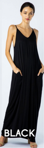 Maxi Me Maxi Dress (9 Colors)up to XL