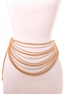 Gold,  Chain Belt
