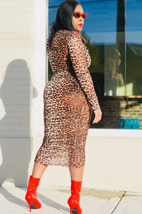 Wild Dreams Leopard Dress