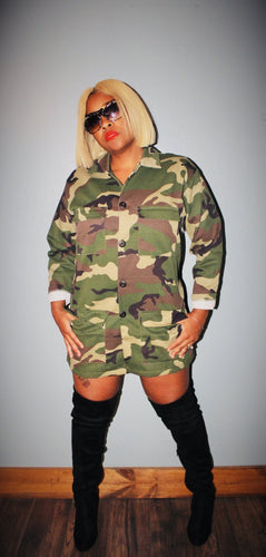 Camo Jacket with Pockets