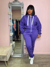 Purple -Kelly Kels Hooded Set