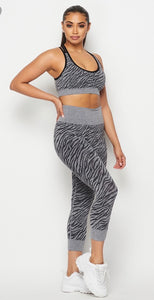 Black Athleisure  Active Set