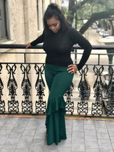 Hunter Green, Ruffle Pants With top