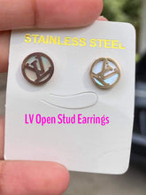 LV Stud Earrings (3 Styles)