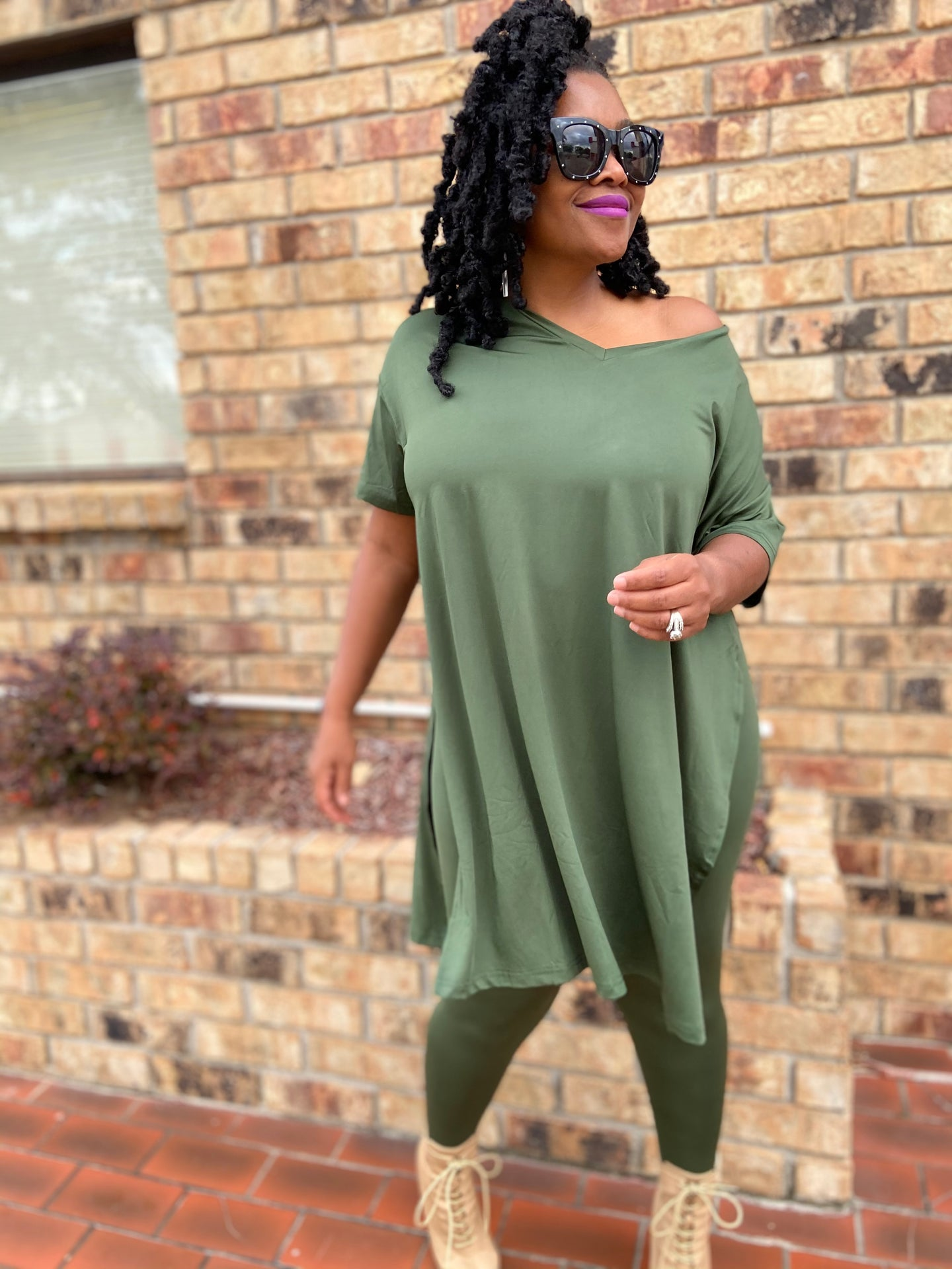 Fall for the Comfort Sets Olive