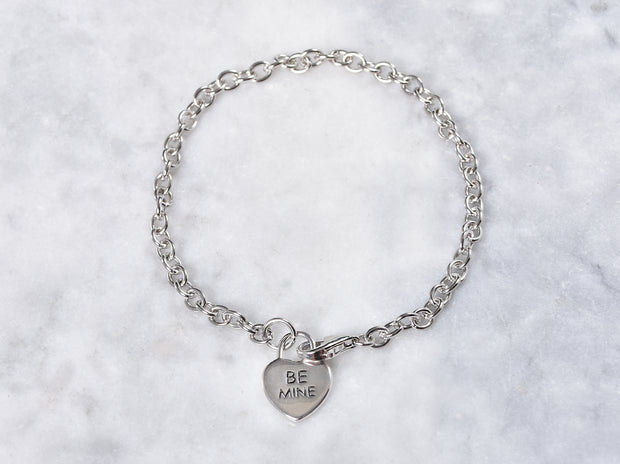 Be Mine Heart Charm Bracelet