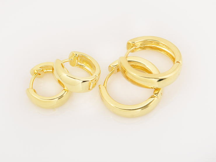 Mini Gold Hoop Earrings