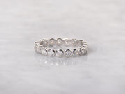 Thin Bezel Eternity Band Ring