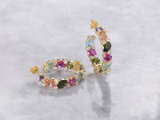 Cecilia Multicolored Hoop Earring