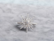 CZ Star Statement Ring