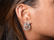 Grace Interlocking Circles Earring