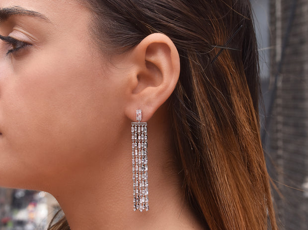 Statement Chandelier Drop Earrings