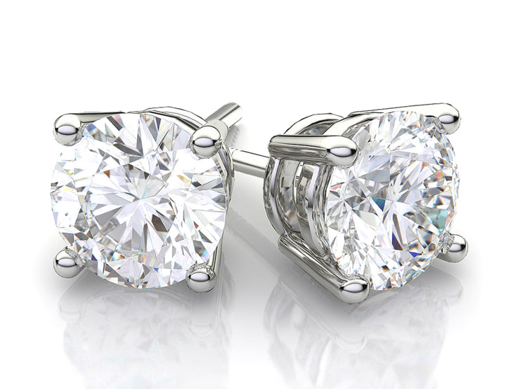 Sterling Silver 10ct Stud Earrings