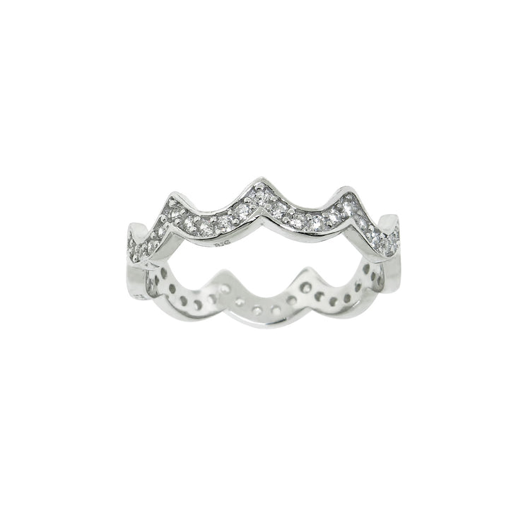 Lilly Crown Ring