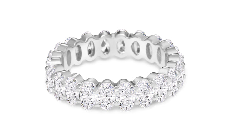 Small Oval Eternity Ring