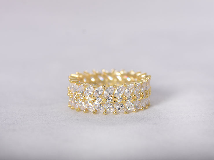 Reagan Marquise CZ Ring