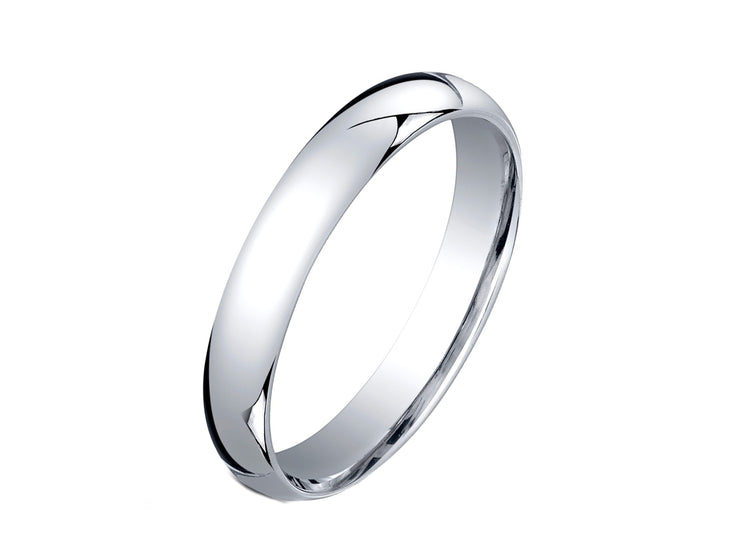 3MM Unisex Comfort Fit Wedding Band Ring