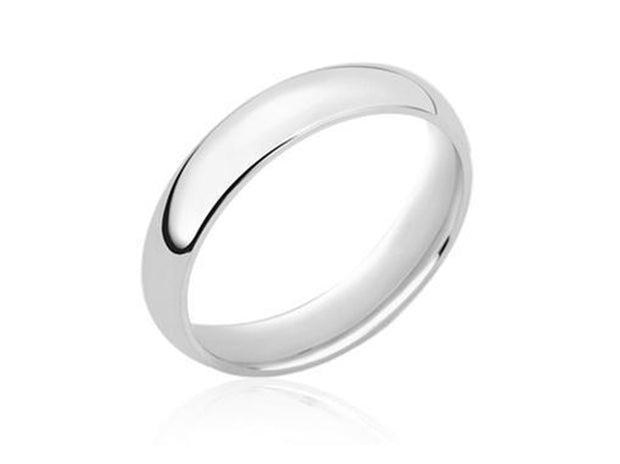 4MM Unisex Comfort Fit Wedding Band Ring