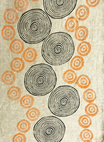 Tea Towel-Eileen Forrest: Waterholes