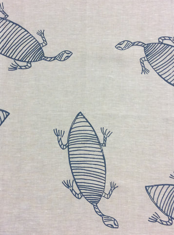 Tea Towel-Deb Yadda: Turtle