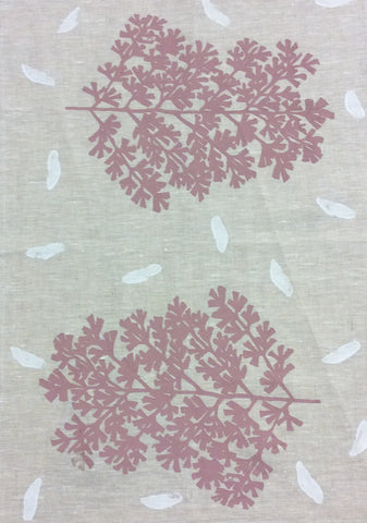 Tea Towel-Phyllis Waye: Leaf