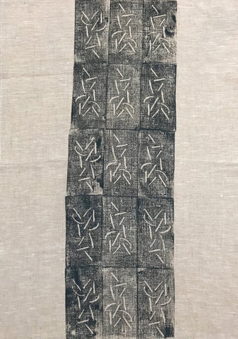 Tea Towel-Lena Andrews: Fish Bones