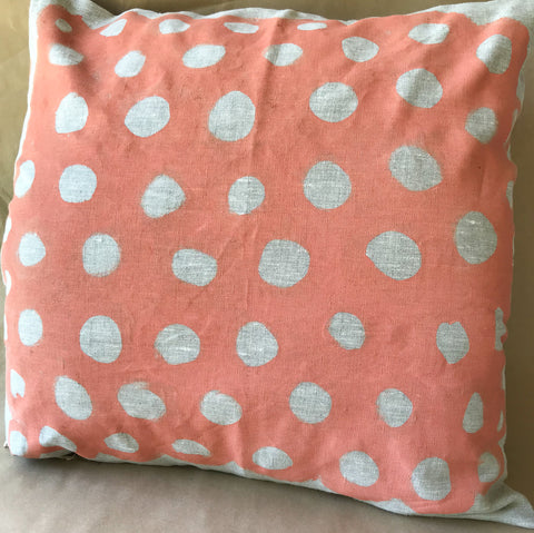 Linen Cushion- Lilly Spinks: Rock Print