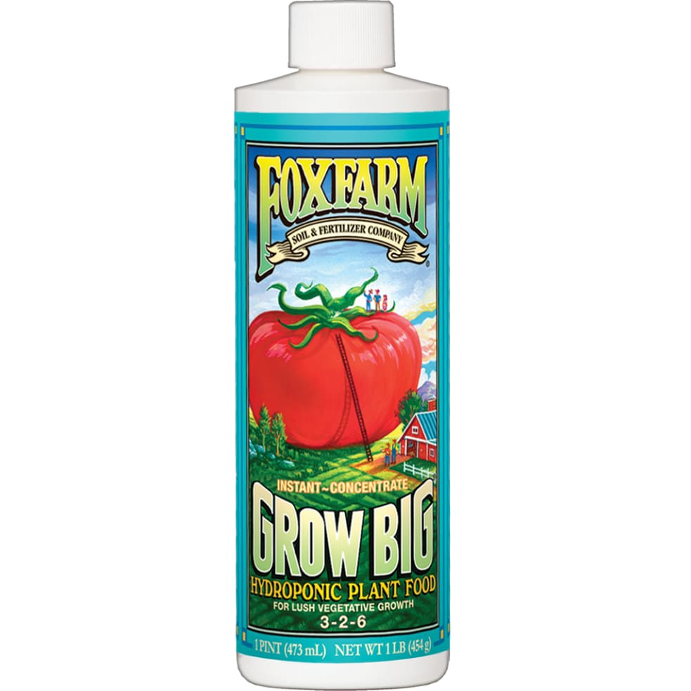 FoxFarm - Grow Big Liquid (Hydro) 946ml Dünger