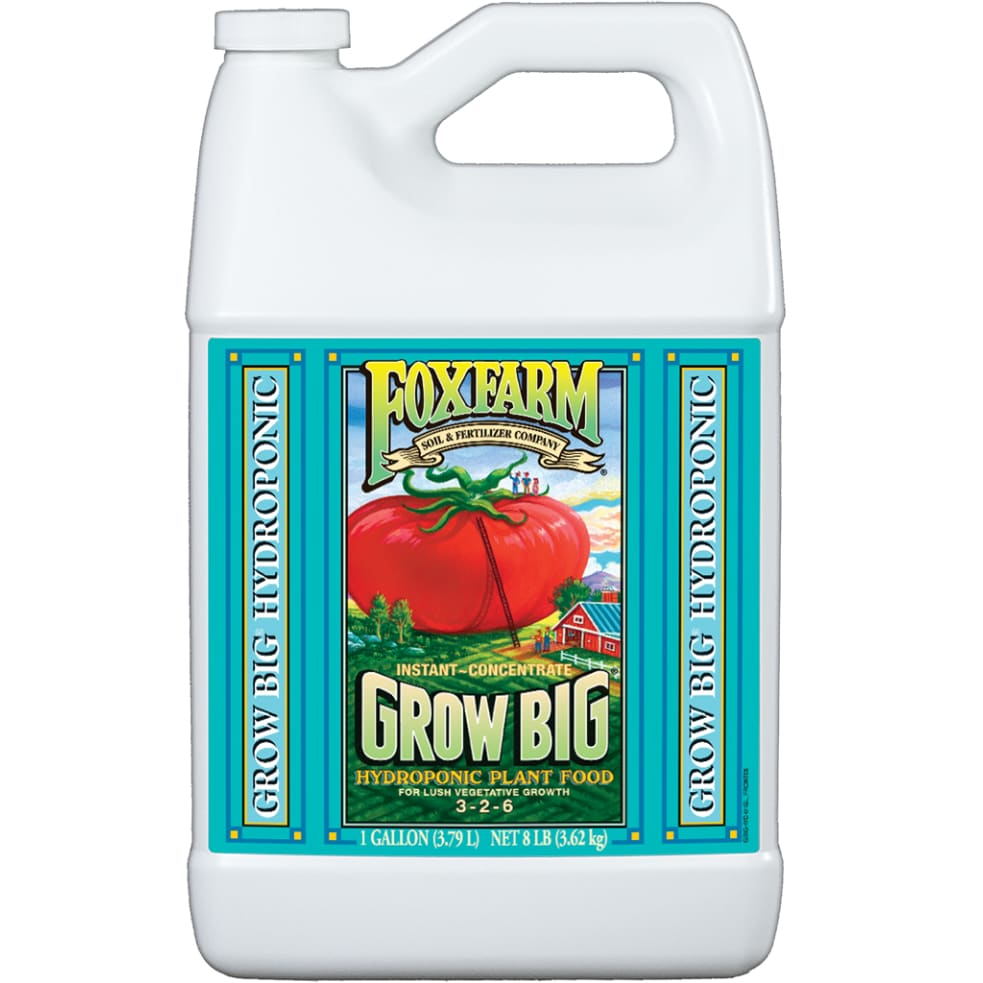 FoxFarm - Grow Big Liquid (Hydro) 3.79L Dünger