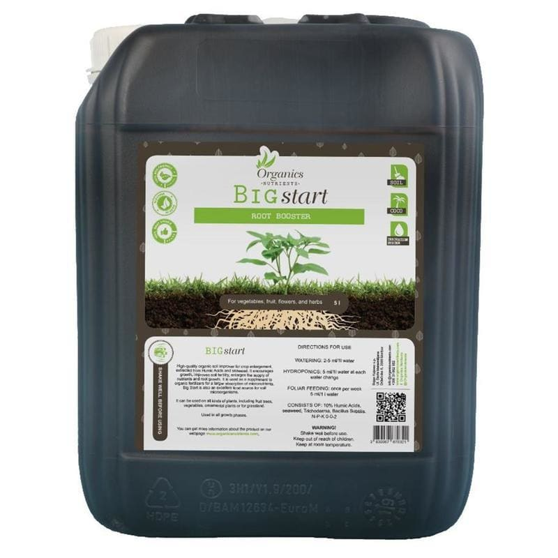 Organics Nutrients Big Start 5L Dünger