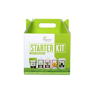 Organics Nutrients Starter Kit Dünger