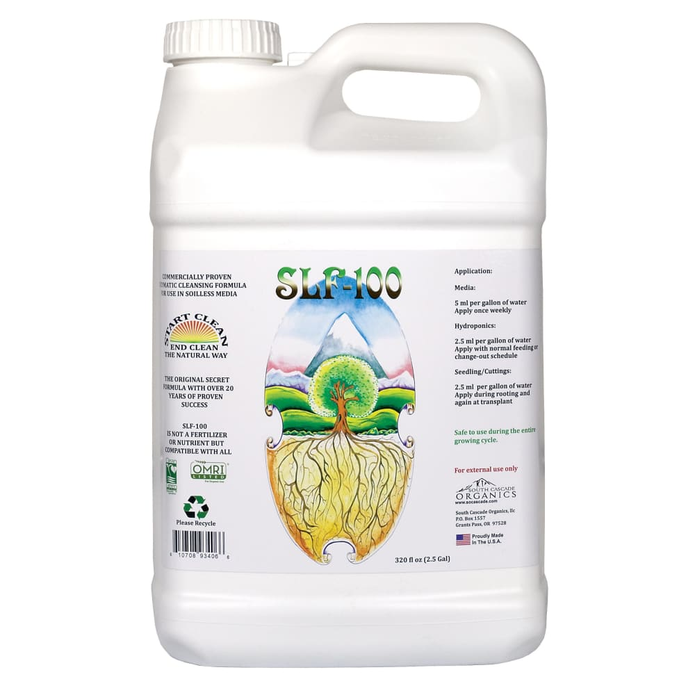 SLF-100 Enzymes - OMRI & Clean Green Certified 4L Dünger