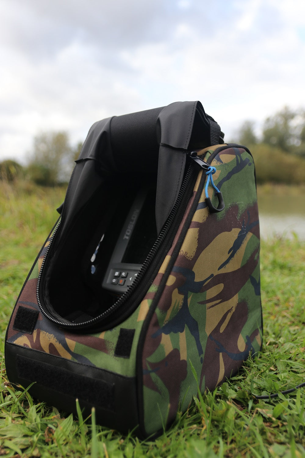 DPM Camo Echo Sounder or Fishfinder Bag