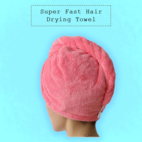 Super Fast Hair Drying Towel