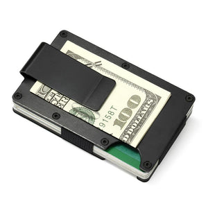 Metal RFID Wallet Business Card Holder Magnet