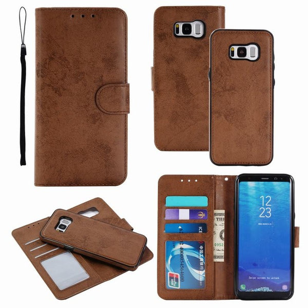 Phone Magnetic Wallet Case Back Cover