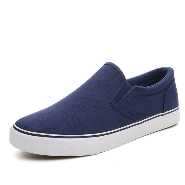 Mens Casual Slip On Canvas Shoes