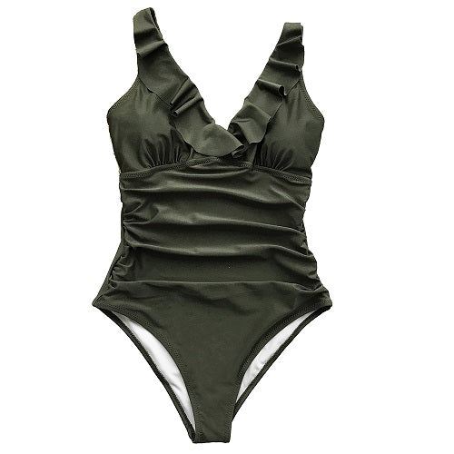Cupshe Falbala One-piece Swimsuit
